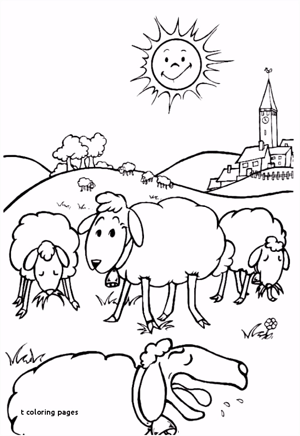 27 T Coloring Pages