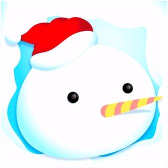 Schilder & Speel Kerstmis Kleurplaten Boek App voor iPhone iPad