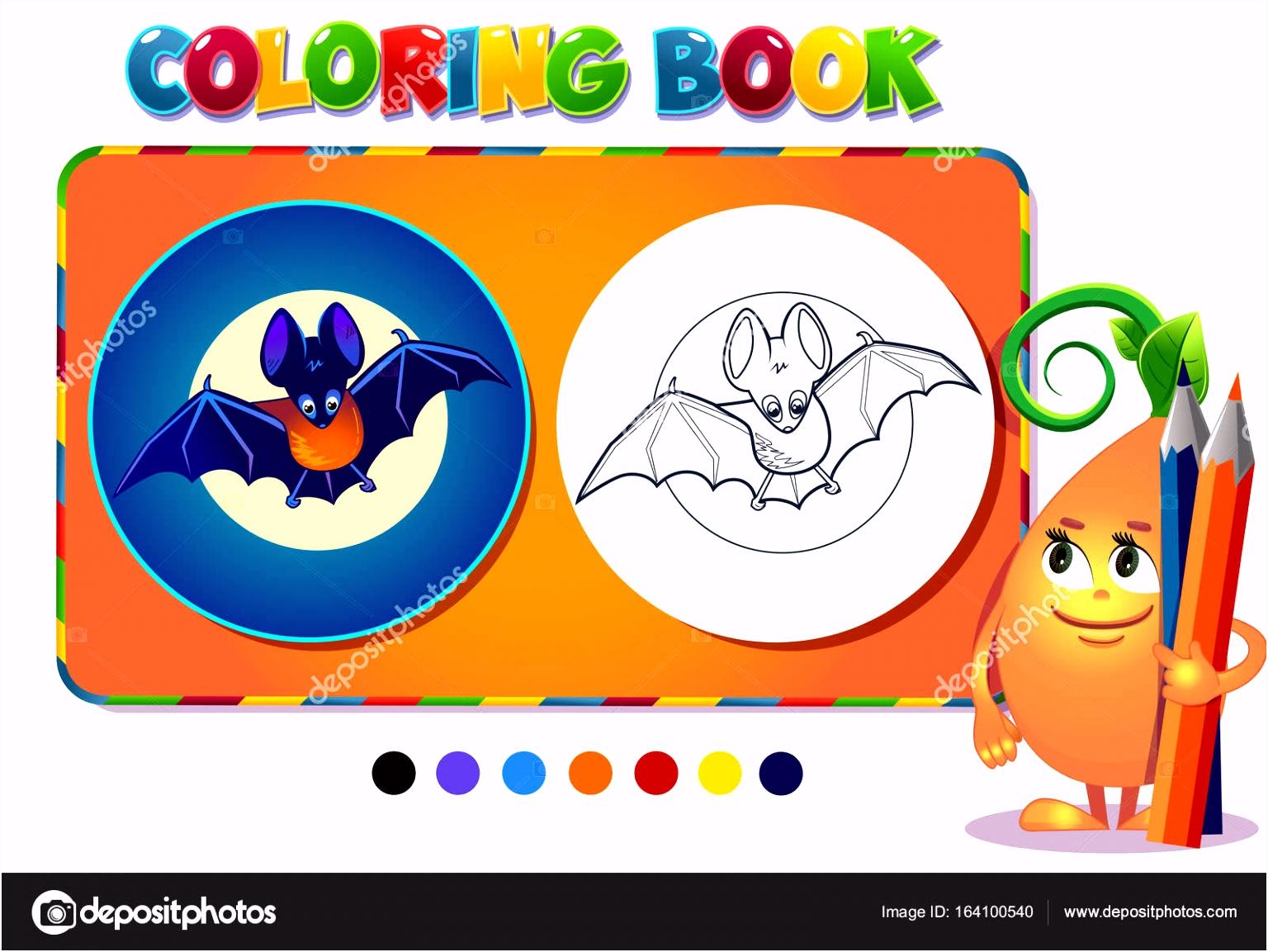 Kleurplaat boek jongen met een vleermuis — Stockvector © rodnikovay1