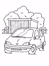 Auto kleurplaten TopKleurplaat