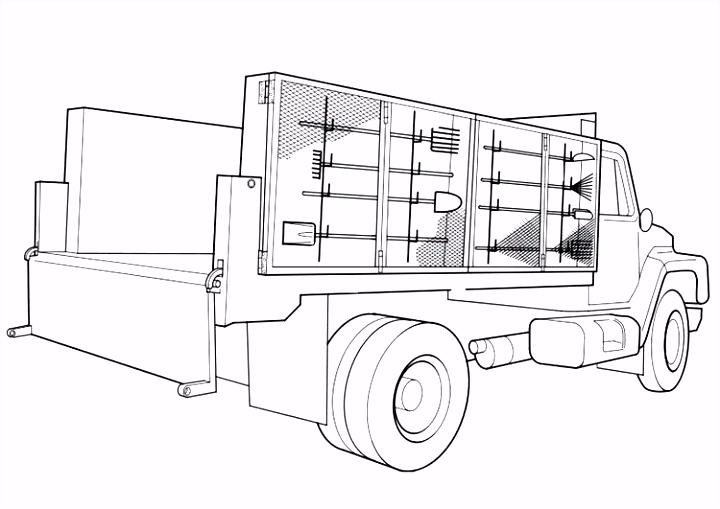 Vrachtwagen Kleurplaten Kleurplaat Vrachtauto Volvo – noumanfo
