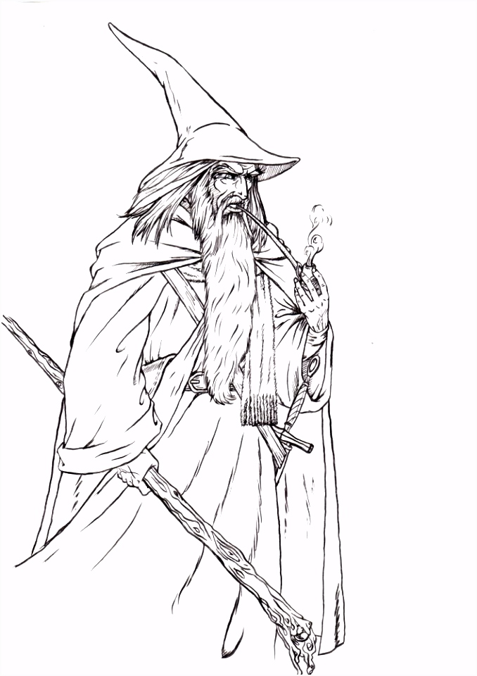 Best Drawings A Wizard