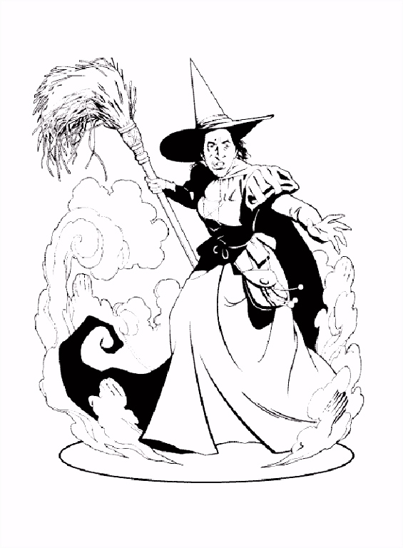 Wizard of Oz Coloring Pages 18 Free Printable Coloring Pages