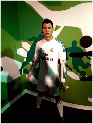 Cristiano Ronaldo Picture of Madame Tussauds Bangkok Bangkok