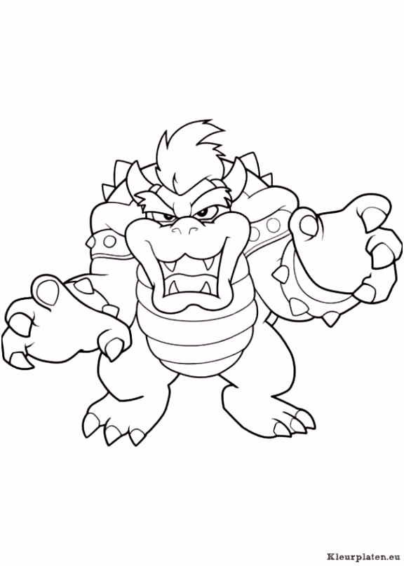 Super Mario Bros Kleurplaten