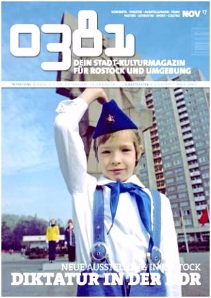 0381 – Dein StadtKulturMagazin für Rostock und Umgebung November
