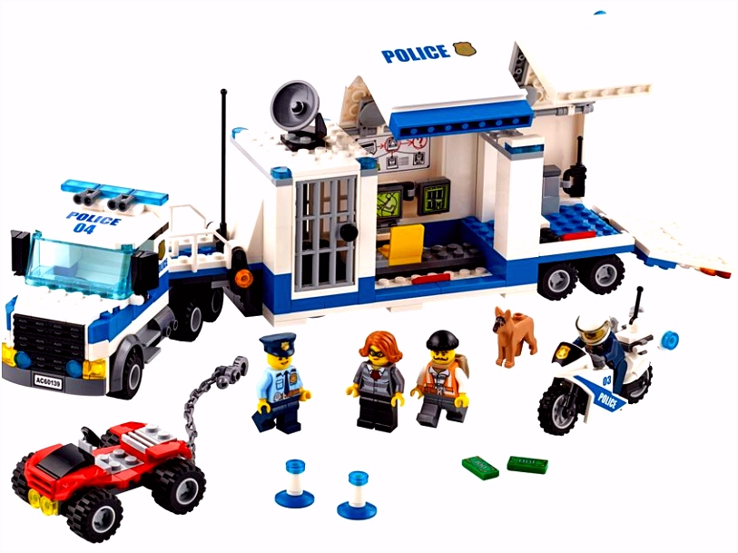 Mobile mand Center LEGO City Products and Sets