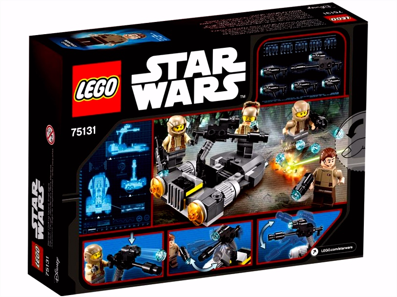 Resistance Trooper Battle Pack LEGO Star Wars™ Products