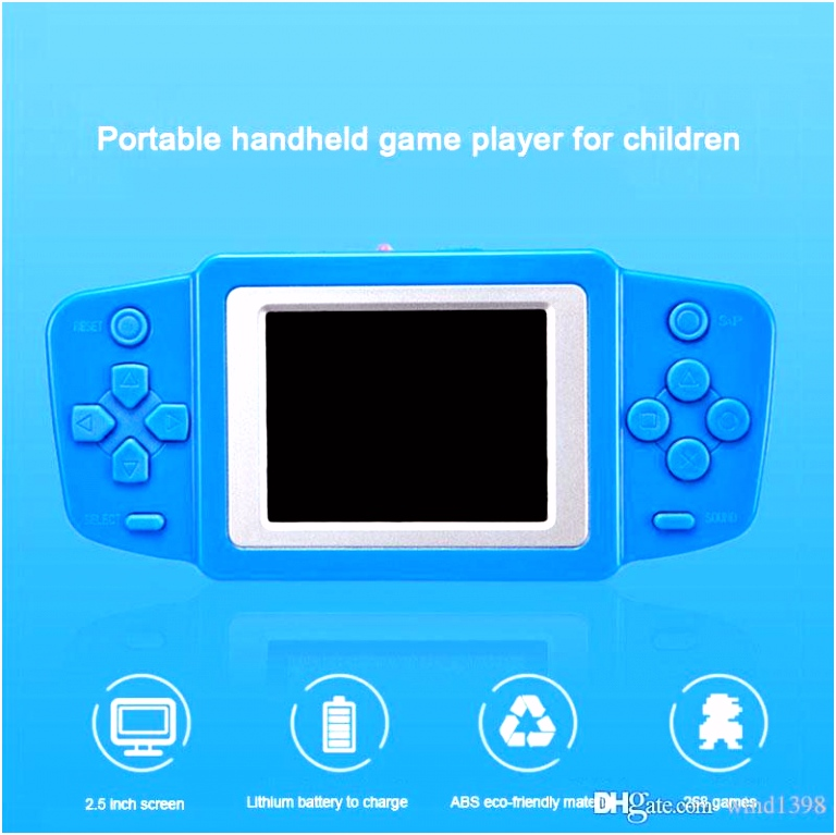 RS 33 Children Video Game Player Child Classic Games Retro Games For