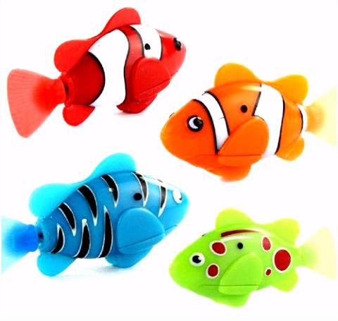 Doinshop 2013 Newest Random Color Novel Robo Fish Electric Toy Pet