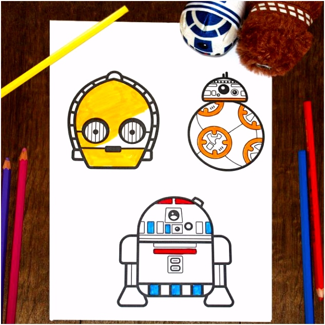 Star Wars Emoji kleurplaten star wars