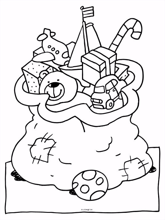 Sinterklaas En Kleurplaat De Zak Met Cadeautjes – Tandem K P3iw61ekg2 Ymuym5hxk2