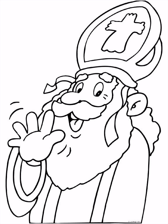 Afbeeldingen Kleurplaten Sinterklaas ARCHIDEV