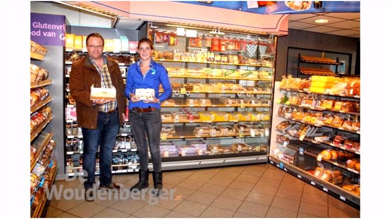 Gebak van bakkerij Bos bij Albert Heijn