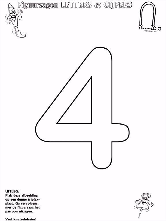 6 sinterklaas kleurplaat met cijfers sletemplatex1234