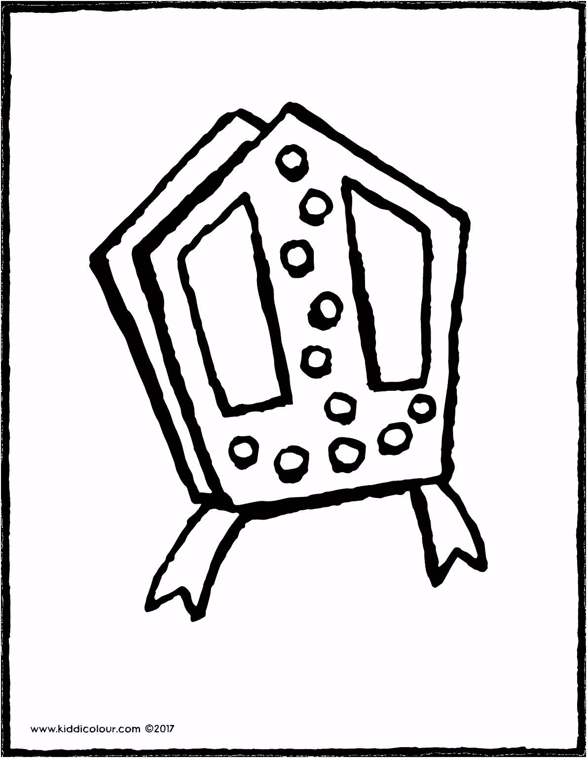 mijter Sinterklaas kiddicolour