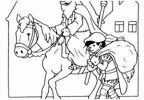 Kleurplaat Paard ARCHIDEV
