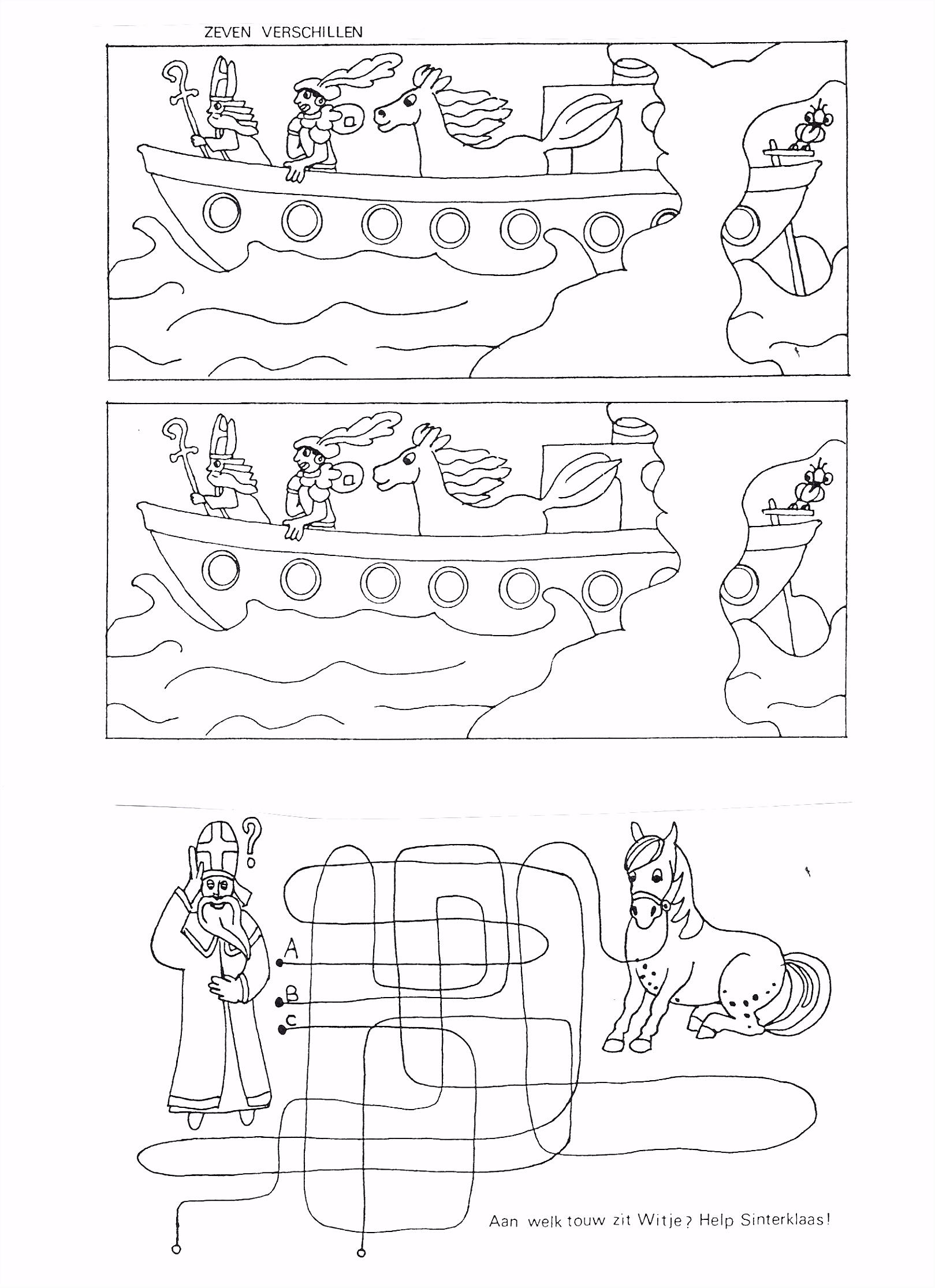 Kleurplaat Schoen Met Wortel Coloring Page Shoe For Saint Nicholas
