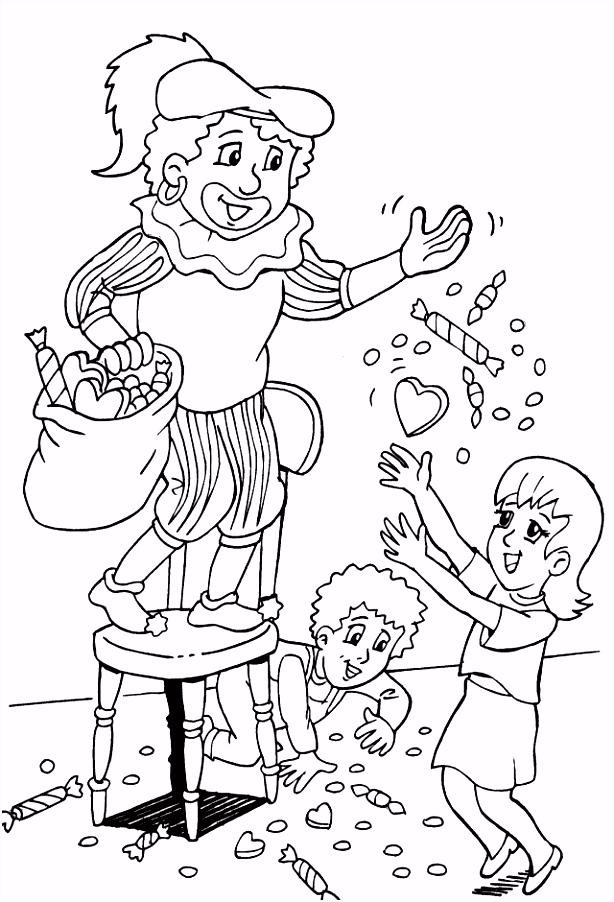 Snoep Kleurplaten Fris Kids N Fun – Werkbladen en kleurplaten