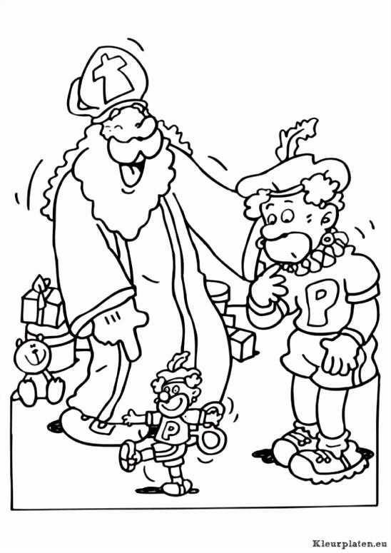 Sinterklaas Kleurplaat Voetbal Sinterklaas En Zwarte Piet Kleurplaat Kleurplaat K4yk86hit3 Esgumhelqh