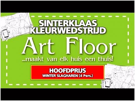 Art Floor Sinterklaas Kleurwedstrijd 2018