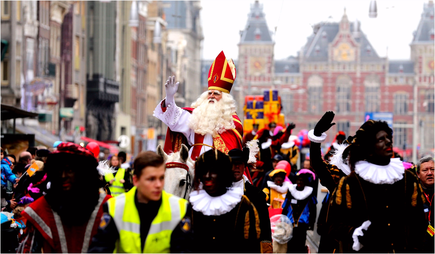 Kleurwedstrijd Sint in Amsterdam