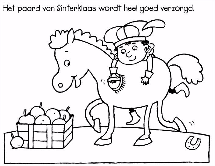 Kleurplaat Sinterklaas Peuters YG67