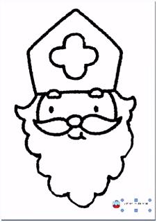 Sinterklaas de zak van zwarte piet leuke knutsels