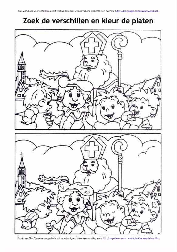 Sinterklaas Kleurplaten Amerigo Werkblad Visueel Zoek De Verschillen Sinterklaas Op Paard D6ur16xan6 Csay52tdq4