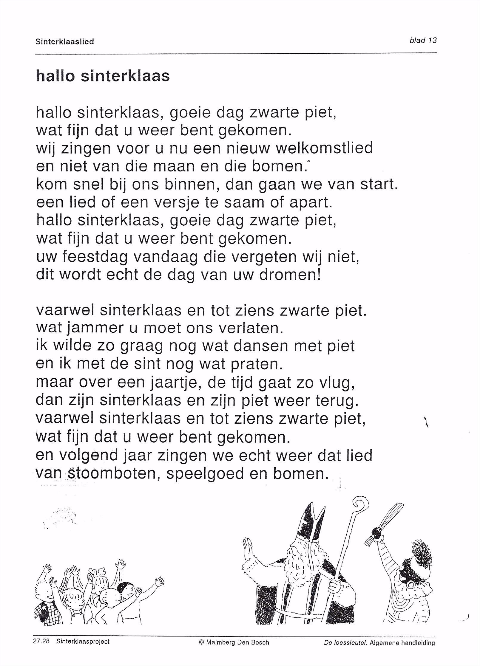 Verhaal Sinterklaas