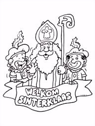 Sinterklaas Tekeningen Om Te Printen ARCHIDEV