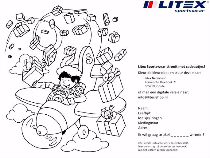 Litex Sportswear speelt voor sinterklaas