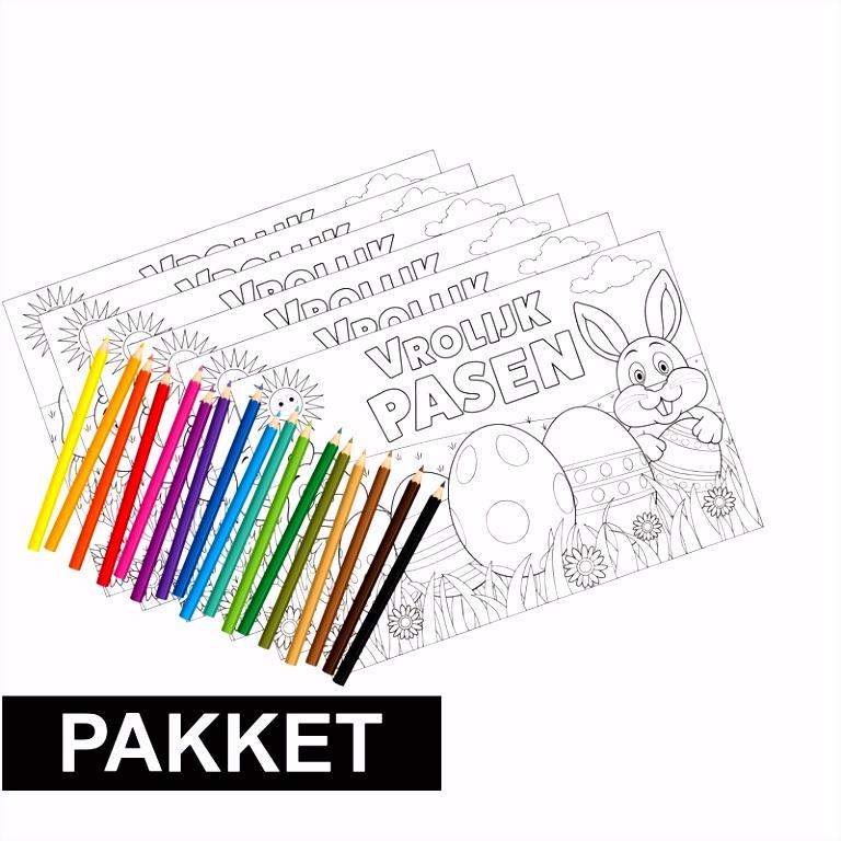 Woordjes leren kleurplaten boek