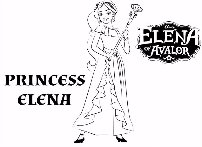 55 Uniek Disney Prinsessen Kleurplaat Afbeeldingen