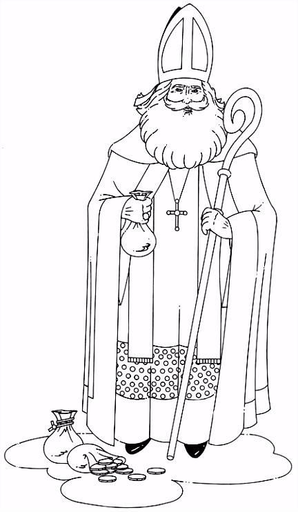 Sinterklaas Almere bij u kleurplaat foto album