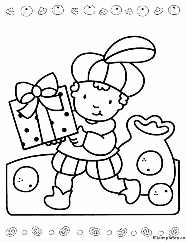 Sinterklaas kinder pieten kleurplaat kleurplaat