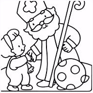 Sinterklaas Prenten Inkleuren ARCHIDEV