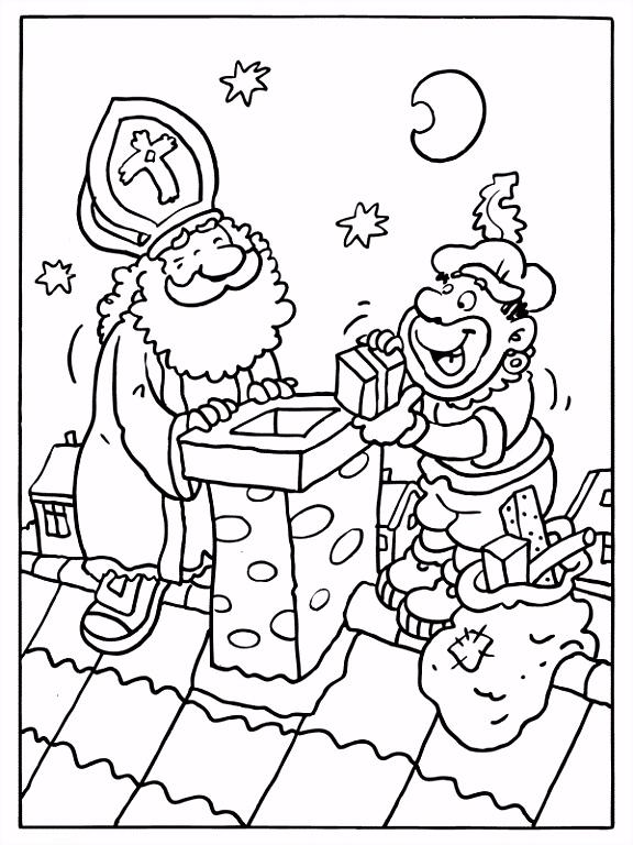 Sinterklaas Kleurplaten Stoomboot Sint Kleurt De Stad Kleurplaten W5de14fsq8 Numom4oan0