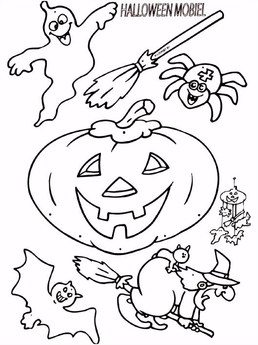 7 Kleurplaten Halloween