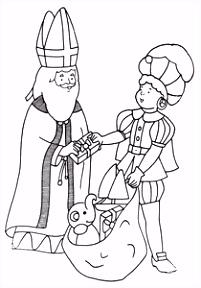Sinterklaas En Zwarte Piet Kleurplaten Animaatjes