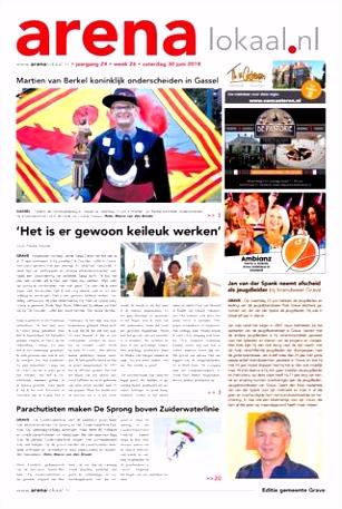 Weekblad Arenalokaal editie Grave Escharen Gassel en Velp week 26