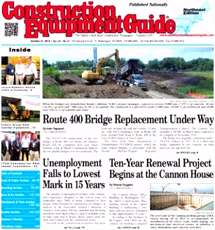Northeast 21 2015 by Construction Equipment Guide issuu