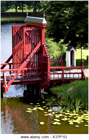 Brücke in Bourtange Stockfoto Bild Alamy