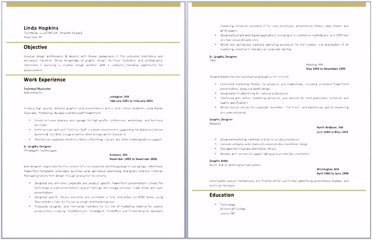 Resume Template Adobe Illustrator Resume Templates Lovely Https I