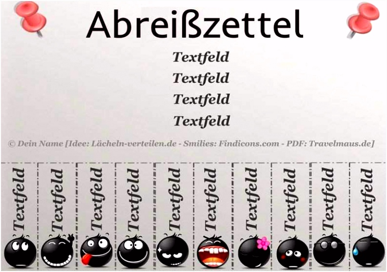 Abreißzettel Download