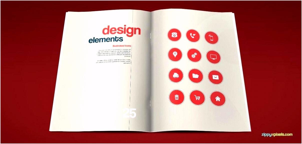 Artistic Brand Identity Manual Template Book Adobe Illustrator Free