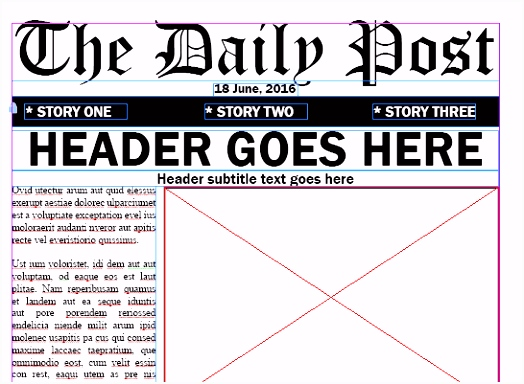 Adobe Indesign Newspaper Templates