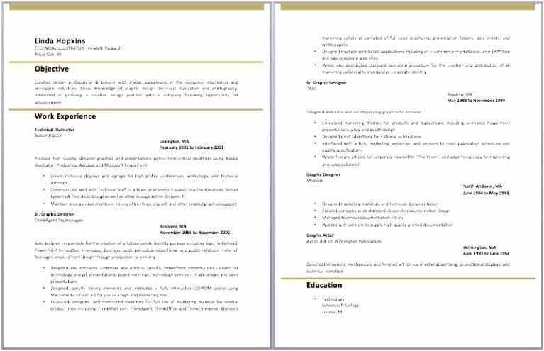 Resume Guideline Best Ressume Template Beautiful Type Resume Luxury
