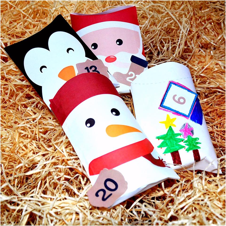 Weihnachtskalender Basteln Süßen Diy Adventskalender Basteln Mit