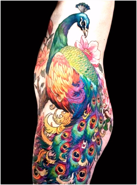 Peacock tattoo To Ink Is Beautiful